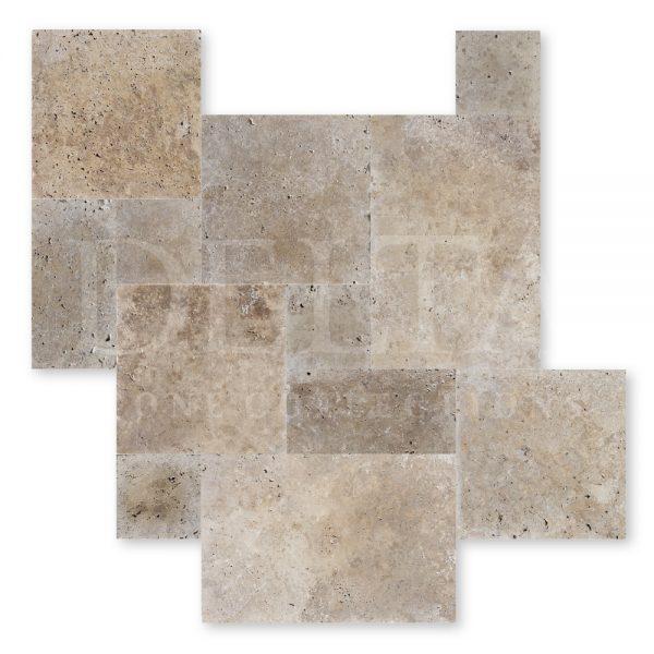 Classic Travertine Tile Tumbled Photo 2