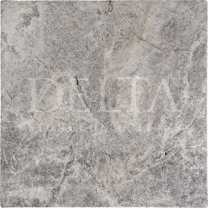 Silver Travertine Tile Tumbled Photo 1