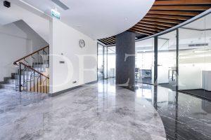 Grey Marble Tile Floor Photo 1