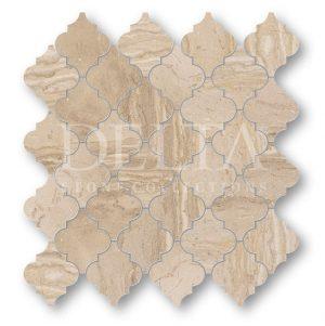 Diana Beige Polished Mosaic